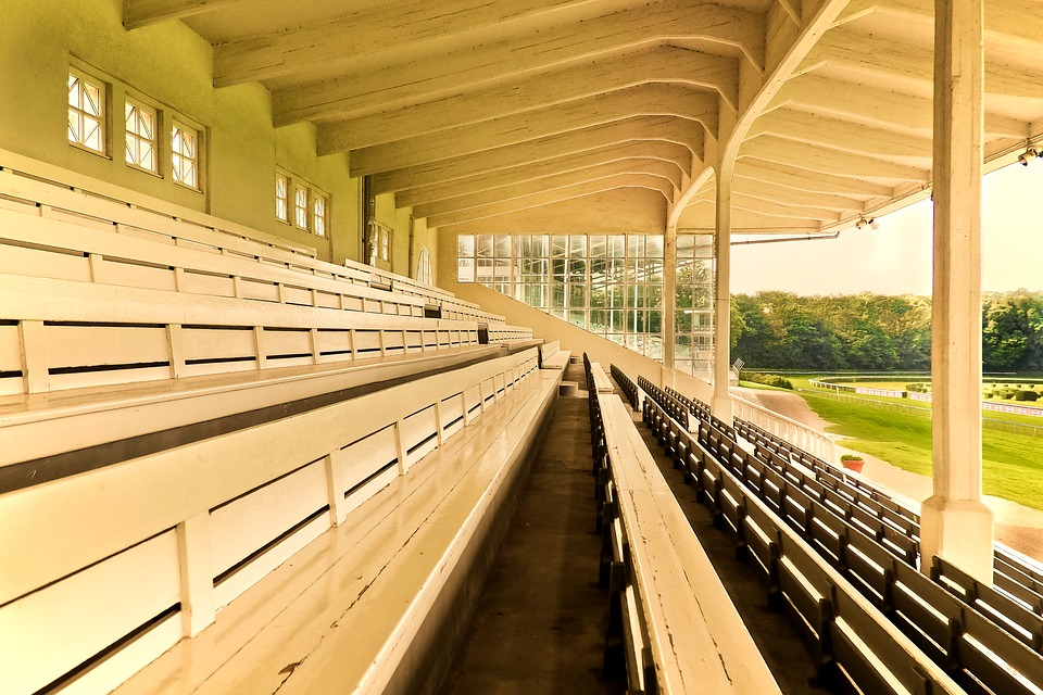 Architecture, Grandstand, Sit, Viewers, Rows Of Seats