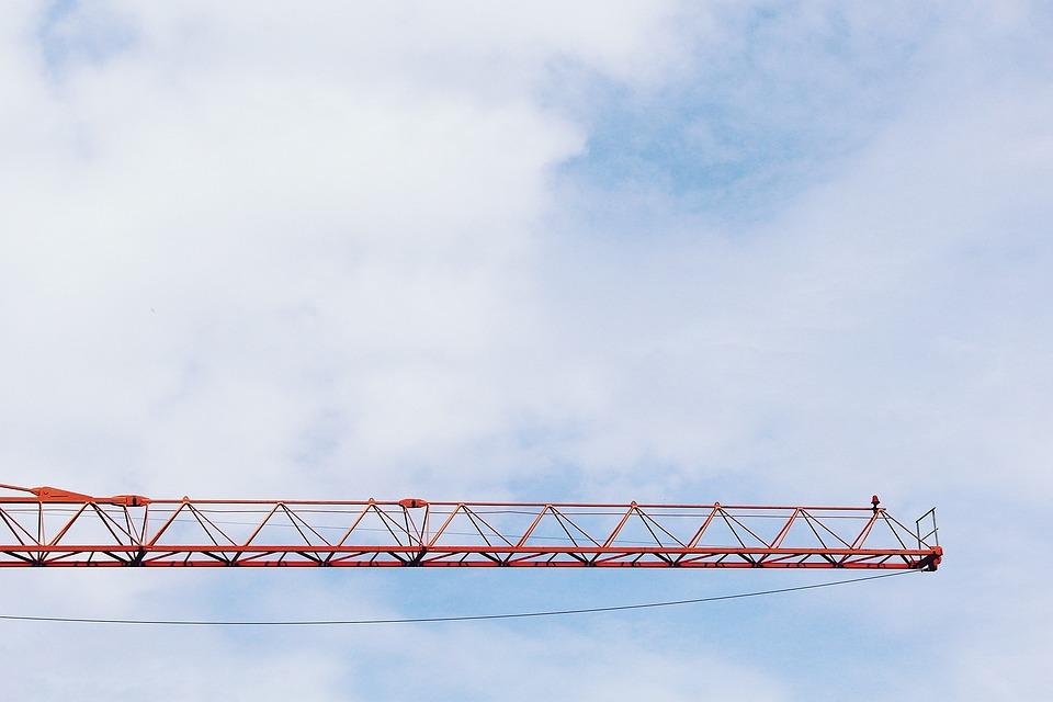 Crane, Baukran, Scaffold, Site, Technology