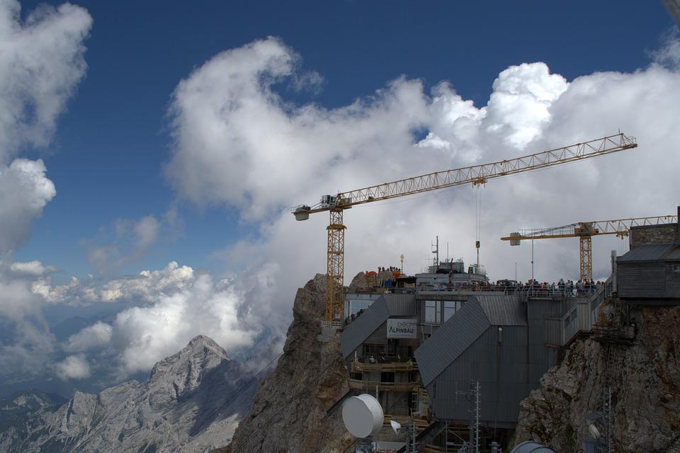 Zugspitze, Site, Germany Highest Construction Site