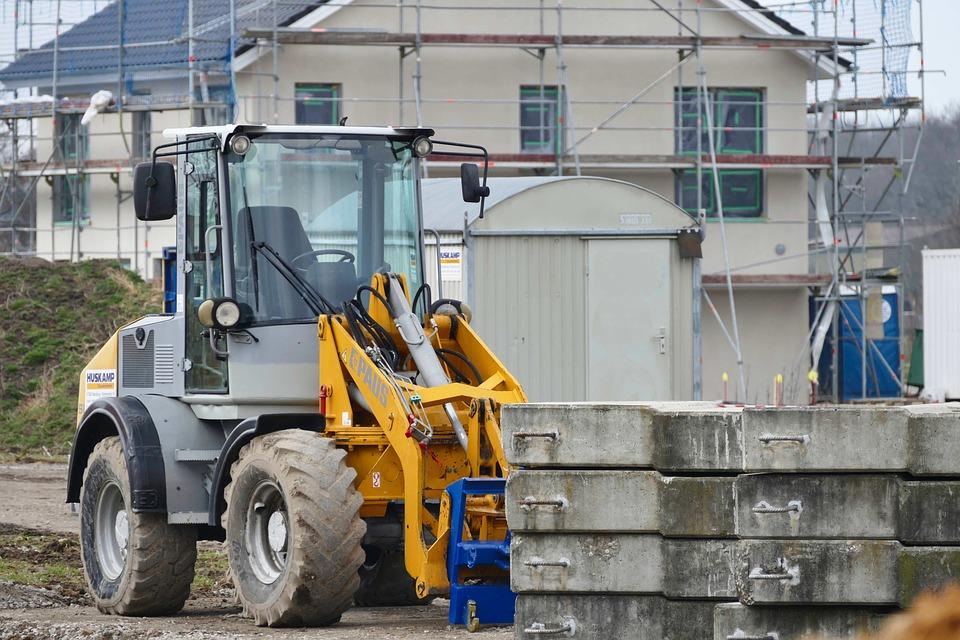 Machine, Equipment, Site, Construction, Excavators