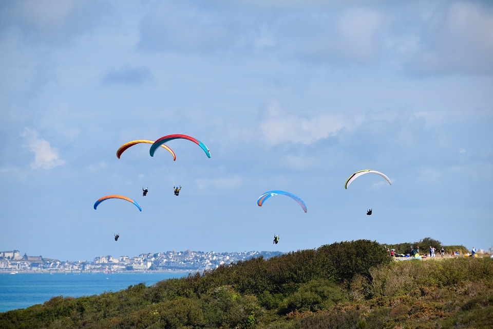 Panoramic Views, Site Of Paragliding, Landscape