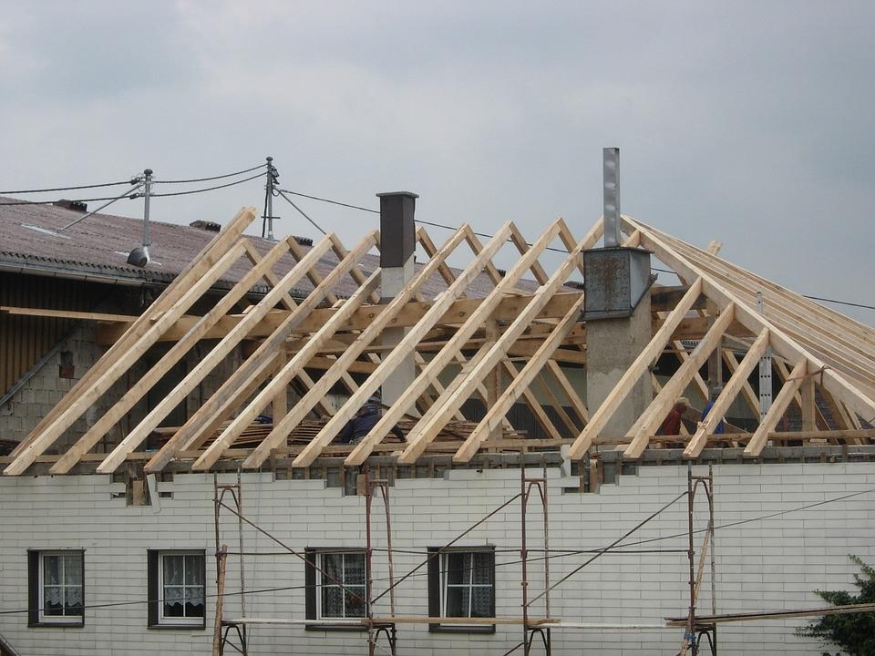 Roof Truss, Build, Site
