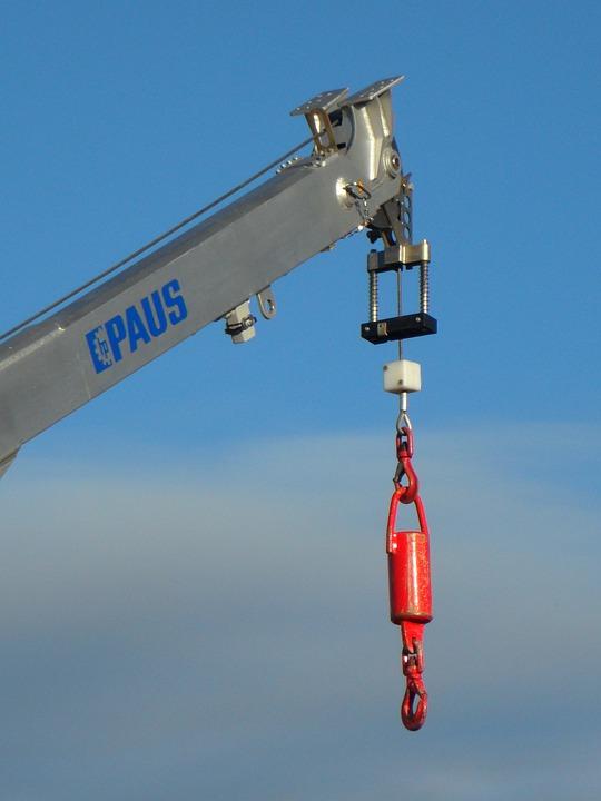 Crane, Sky, Load Crane, Site, Construction Work