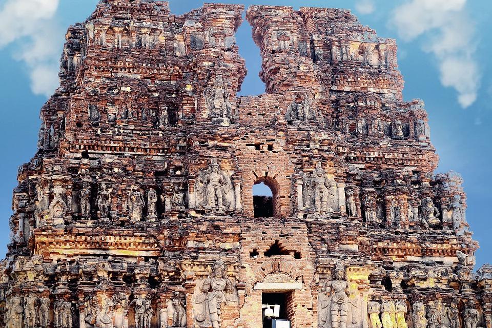 Hampi, Temple, India, Ruins, Unesco, Site