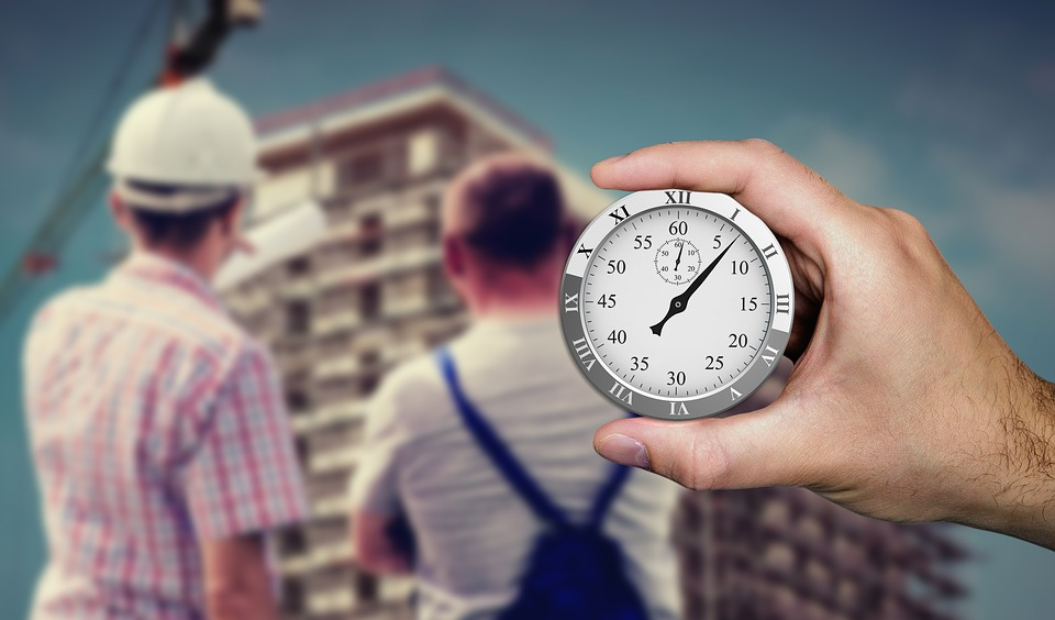 Stopwatch, Time, Construction, Schedule, Site