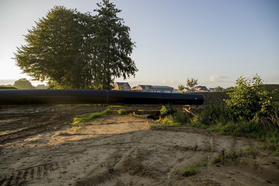 Zeelink Pipeline Immerath, Site, Tube