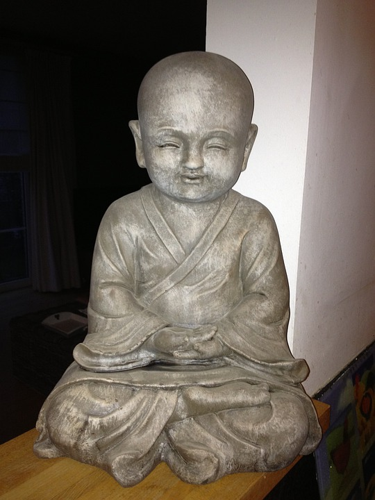Buddha, Meditation, Sitting, Statue