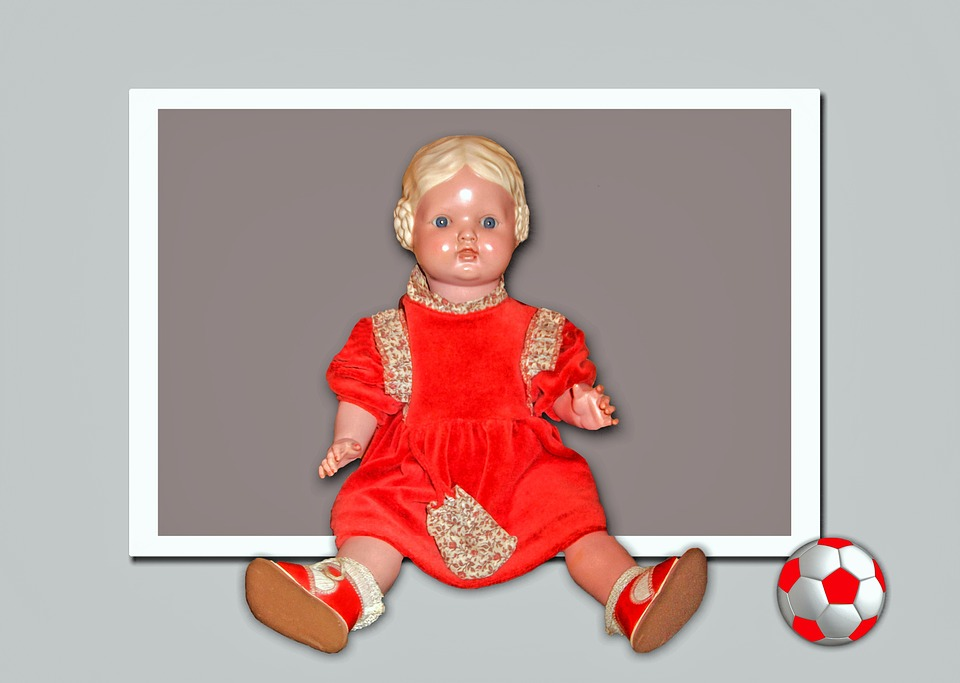 Doll, Toys, Figure, Sitting, Children Toys, Old