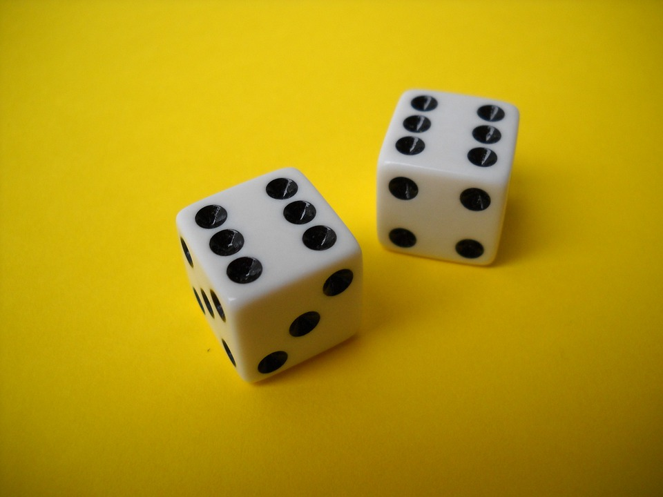 Dice, Double, Six, Gamble, Game, Lucky, Luck