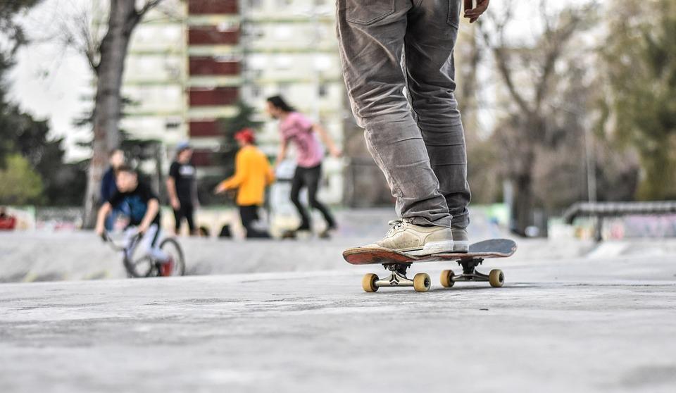 Skate, Skateboard, Boy, Speed, Fun, Jump, Fast, Sport