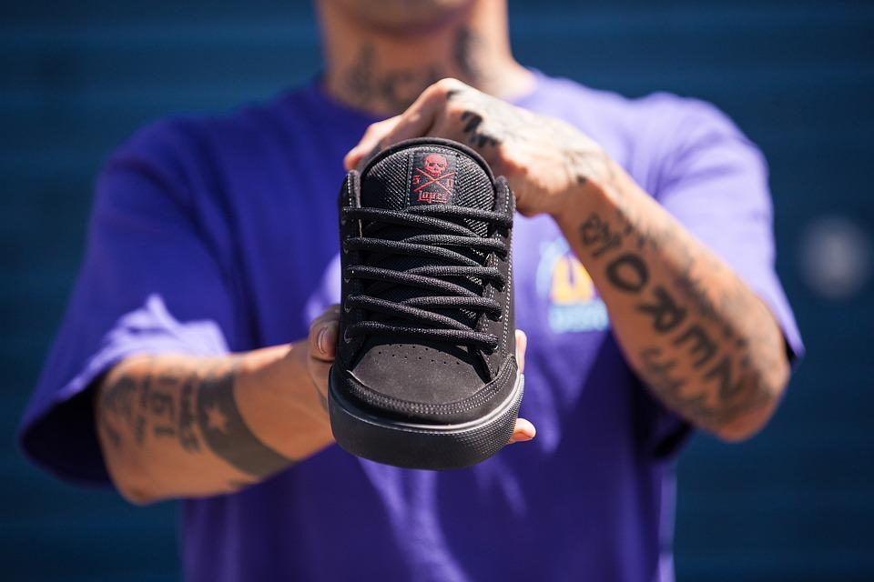 Skate Shoes, Footwear, Shoe, Skater, Skaterboarding