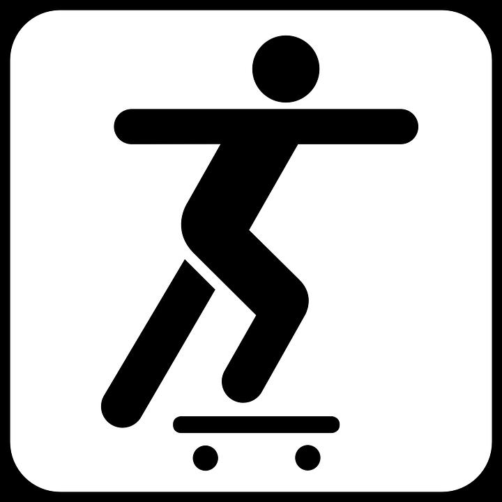 Skateboard, Skateboarding, Sports, Outdoors, Recreation