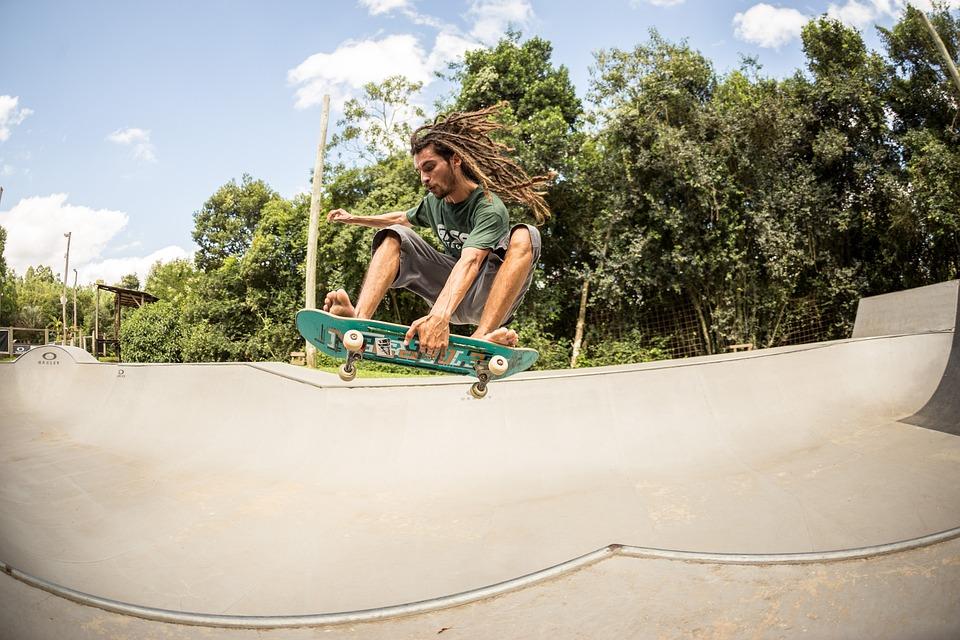 Radical, Skatepark, Dreadlocks, Brazil, Skater