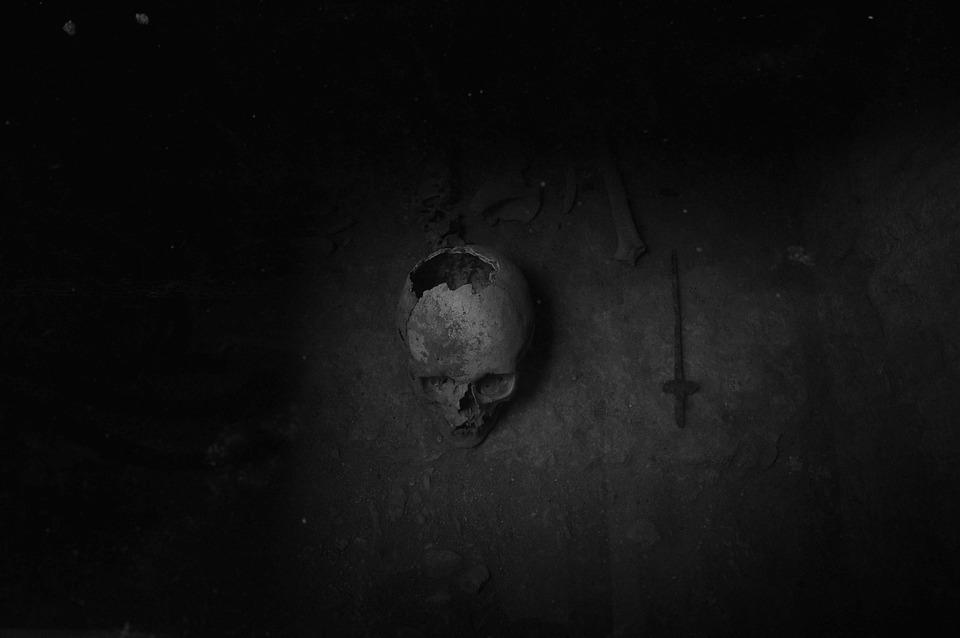 Skull, Bones, Nero, Destiny, Skeleton