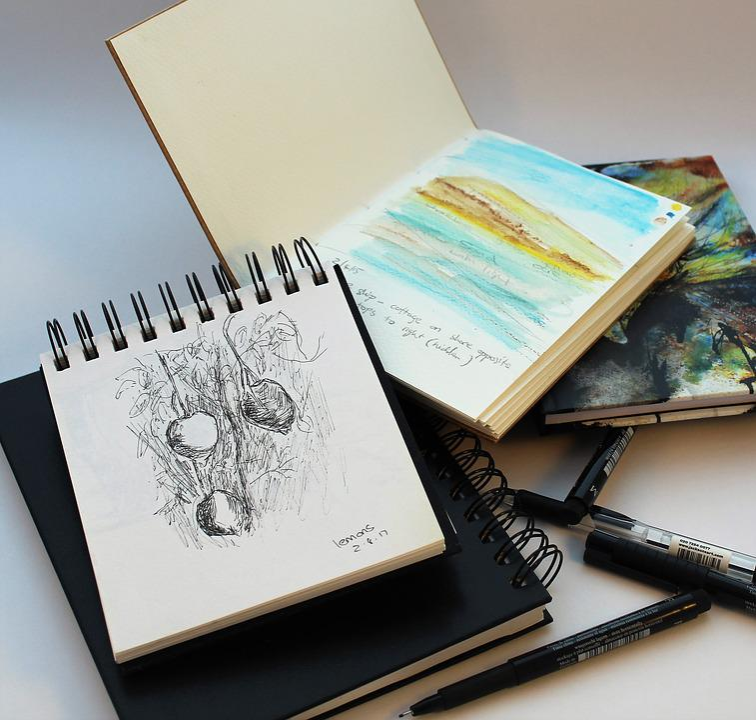 Sketch, Draw, Sketchbook, Pen, Pencil, Ink, Painting