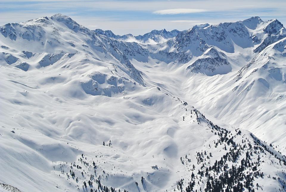 Alpine, Mountains, Ski, Snowboard, Landscape, Nature