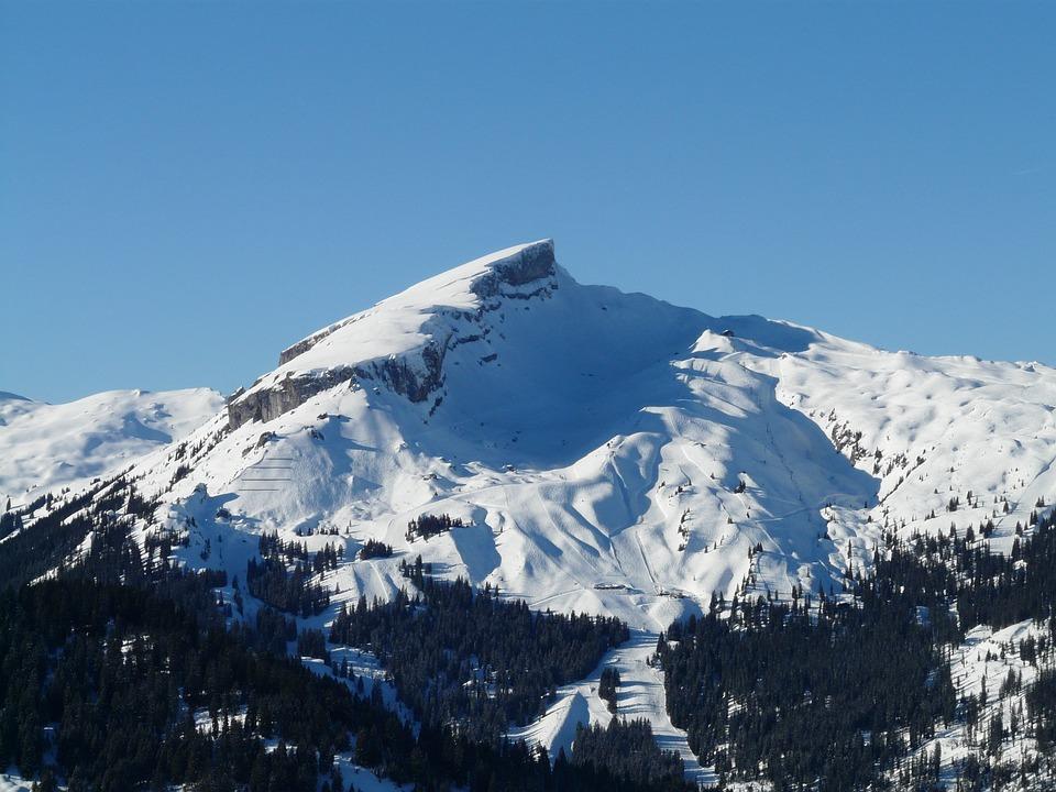 High, Ifen, Mountain, Alpine, Allgäu, Rock, Ski Area