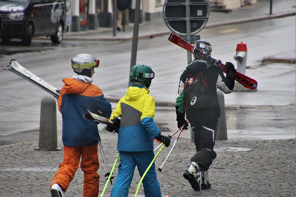 Skis, Ski, Skiers, Ride, Sport, Skier, Group, Rest