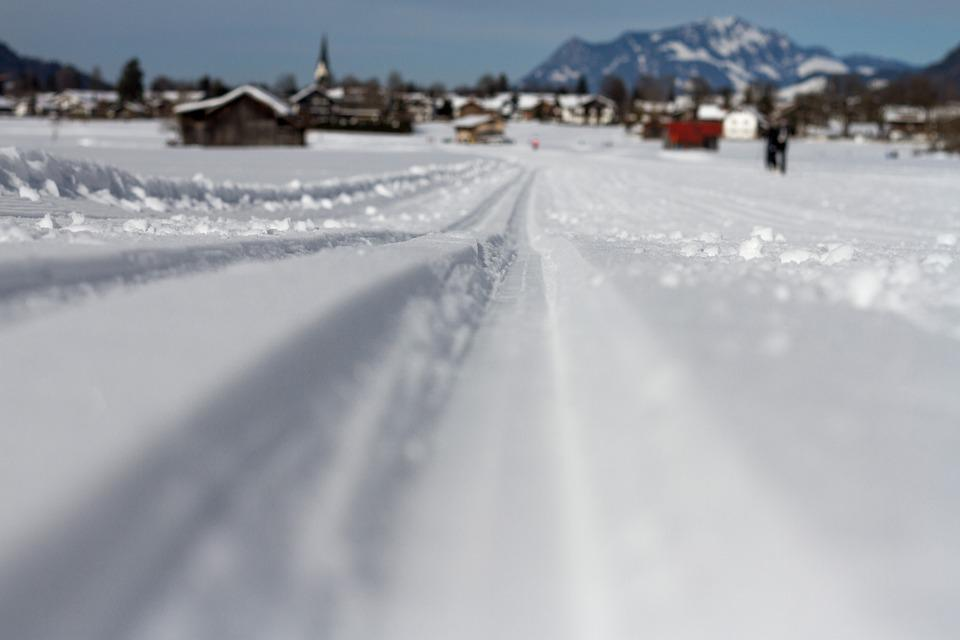 Ski Trails, Cross Country Skiing, Winter, Snow Lane
