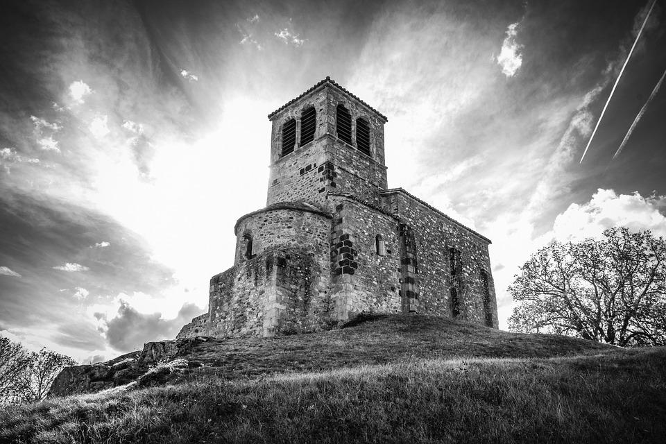 Chapel Saint-vincent, Saint Laurent D Agny, Skies