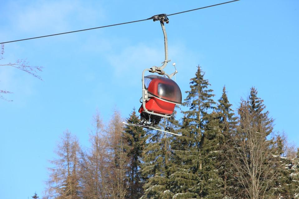 Ski Lift, Ski, Skiing, Winter, Winter Sports, Snow