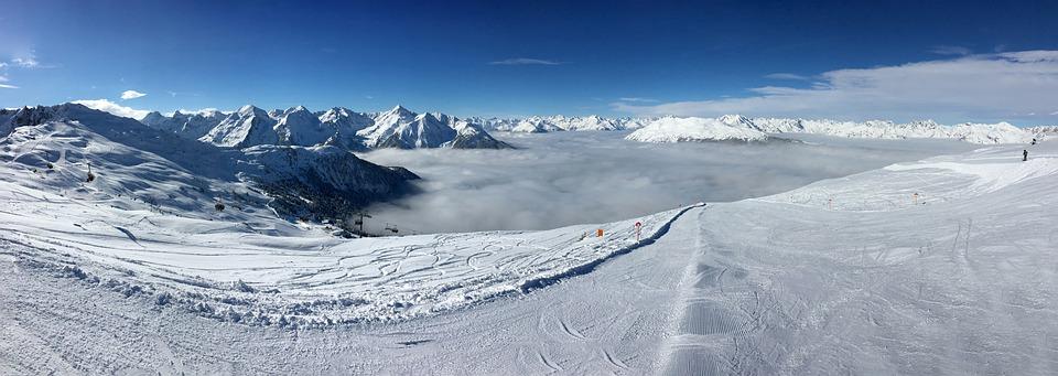 Ski Run, Skiing, Ski Area, Winter, Snow, Mountains