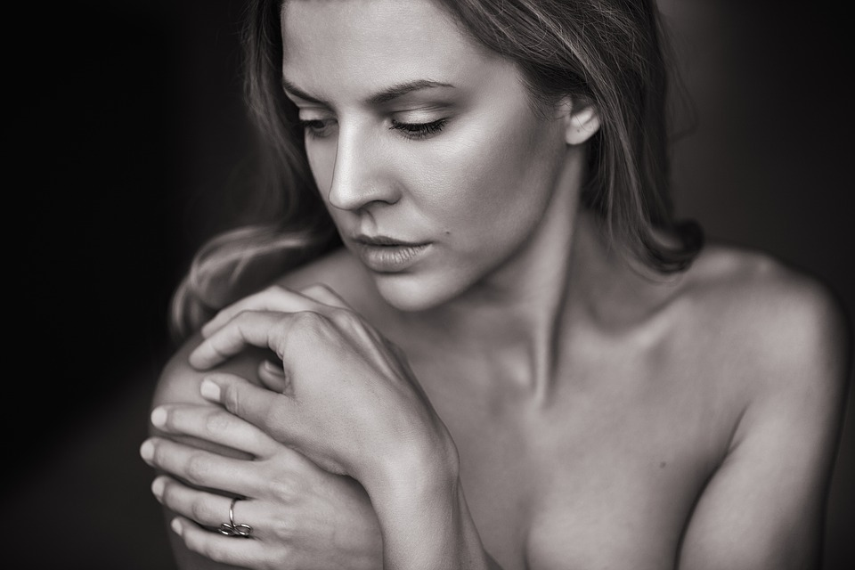 Pretty Woman, Portrait, Sexy, Hands, Pretty, Face, Skin