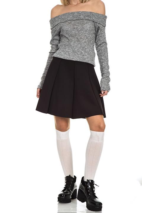 Fashion, Woman, Skirt, Girl, Adult, Sensual, Sexy