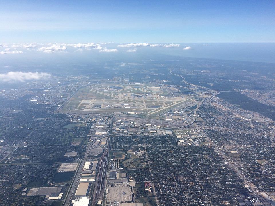 Aerial View, Sky, Aerial, Scene, Panorama, Panoramic