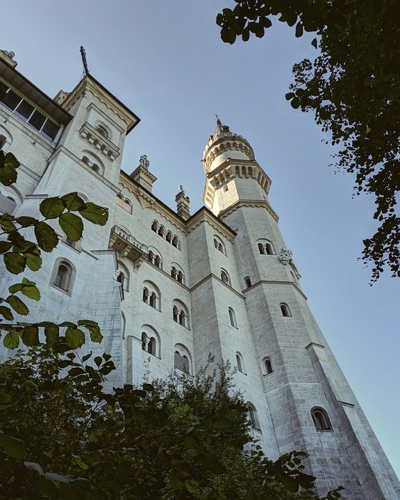 Castle, Sky, Perspective, Architecture, Facade