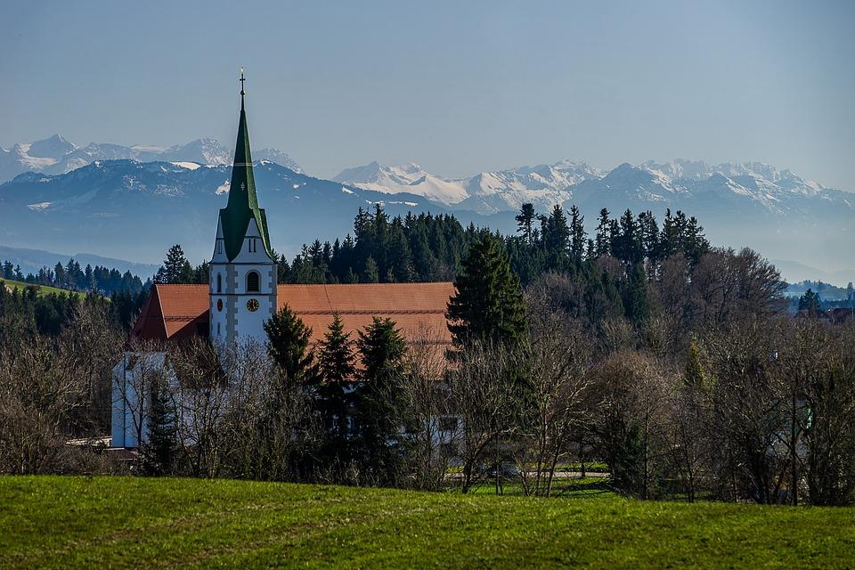 Tree, Sky, Panorama, Travel, Church, Architecture
