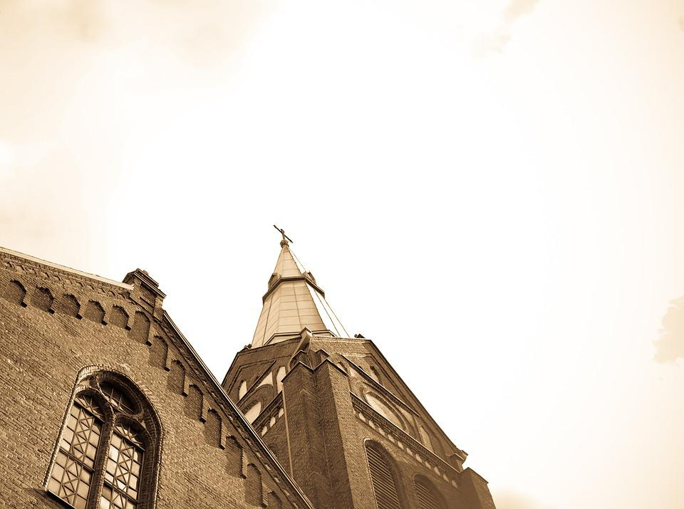 Church, Church Tower, Architecture, Sky, Religion, Old