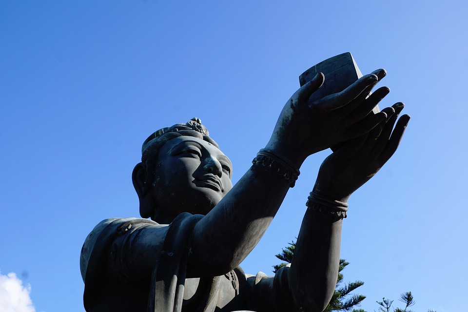 Sky, Sculpture, Statue, Travel, Human, Art, Religion
