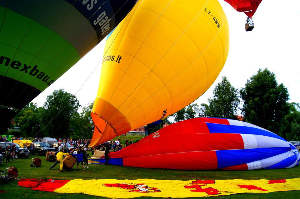 Balloon, Flying, Sky, Flight, Fly, Lifting, Colorful