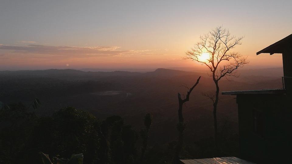 Dawn, Sunset, Sky, Panoramic, Nature, Sajek, Bangladesh