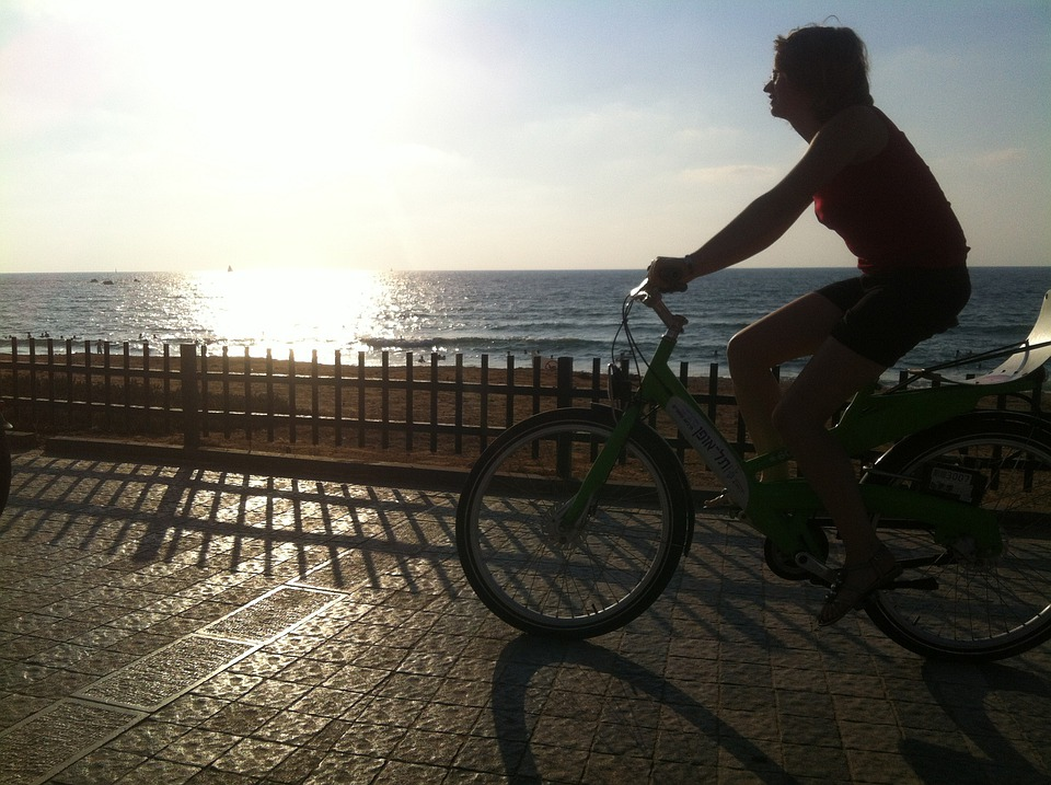 Sunset, Bike, Sky, Biking, Sports, Free Riding