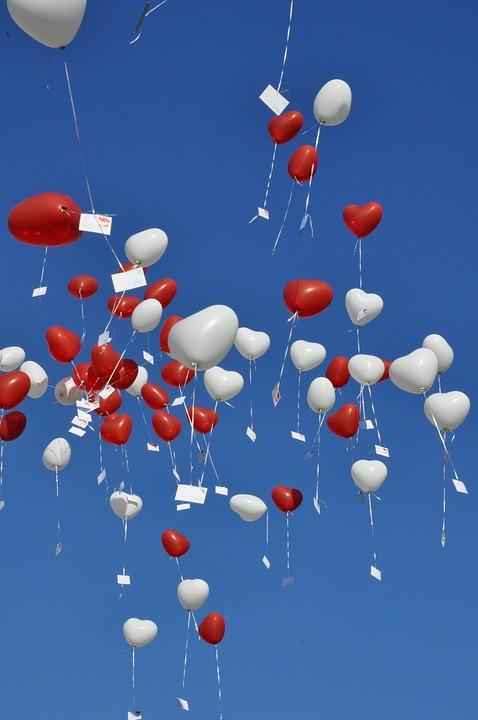 Sky, Balloons, Blue