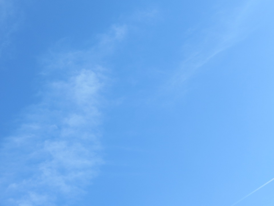 Blue, Sky, White, Clouds, Cloud, Clear, Sky Blue