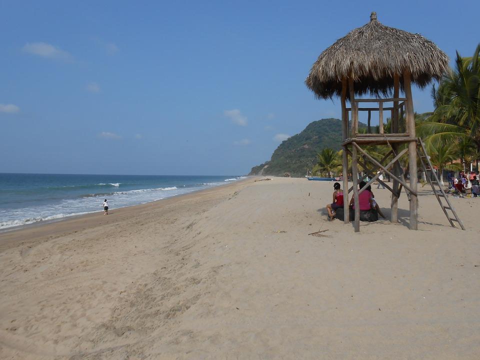 Beach, Sea, Ocean, Sky Blue, Landscape, Nature