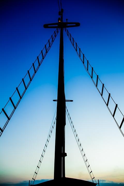 Ship, Sky, Travel, Blue