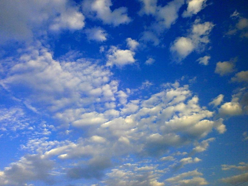 Sky, Blue Sky, Cirrocumulus