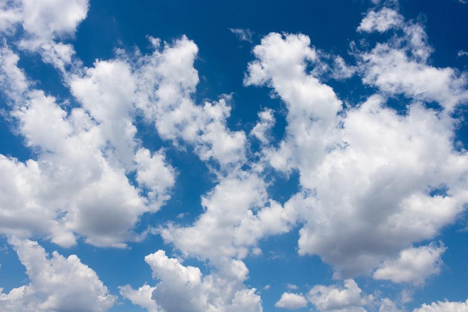 Clouds Sky Cloudy Blue