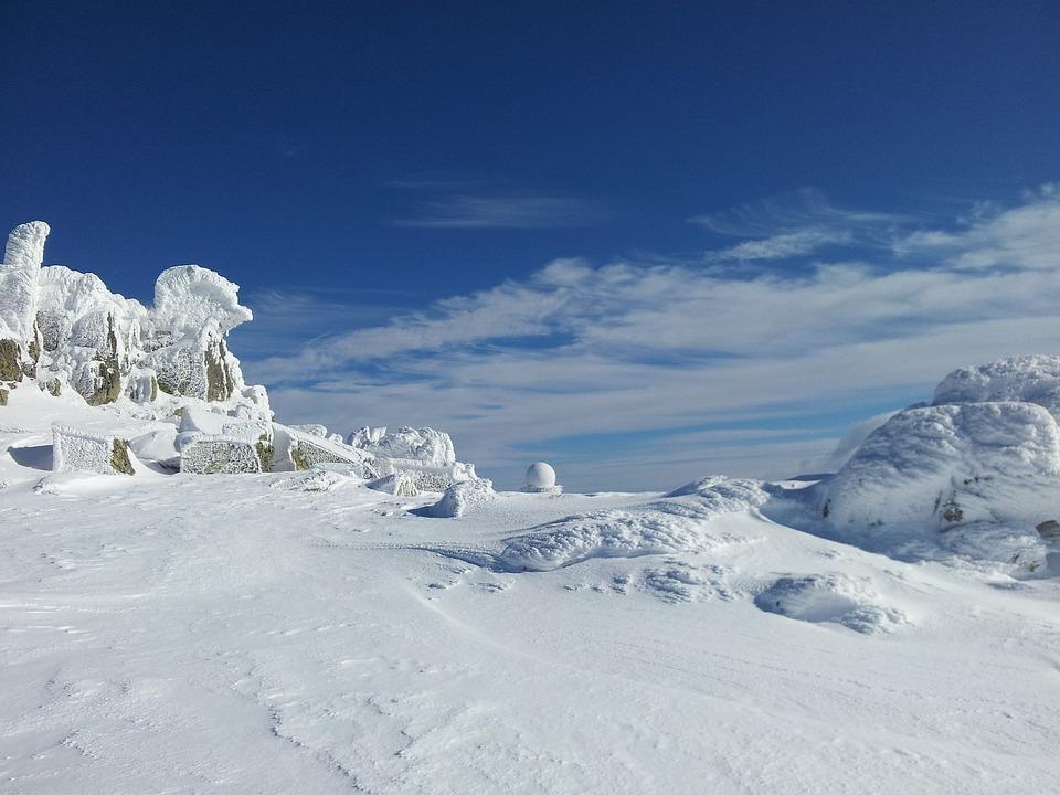 Winter, Winter Magic, Blue Sky, Sky, Blue, White
