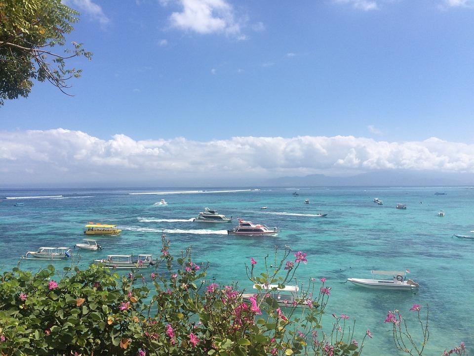 Beach, Lonely Island, Dream Beach, Summer, Sky, Boats