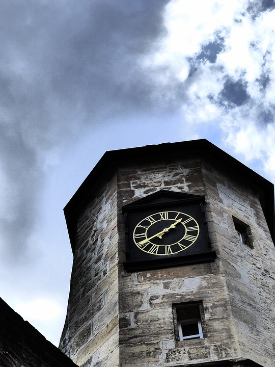 Clock Tower, Tower, Time, Building, Sky