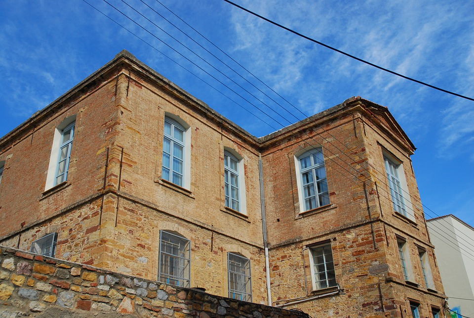 Chios, House, Sky, Architecture, Building, Landmark