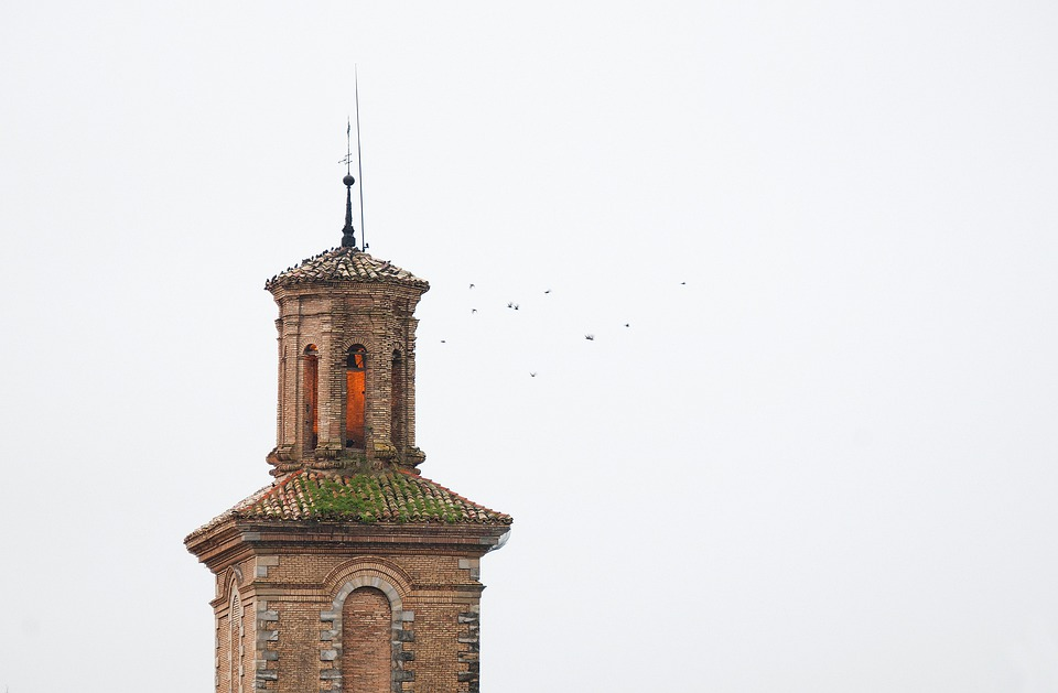 Birs, Church, Sky, Grey, Towers, Architecture, Building