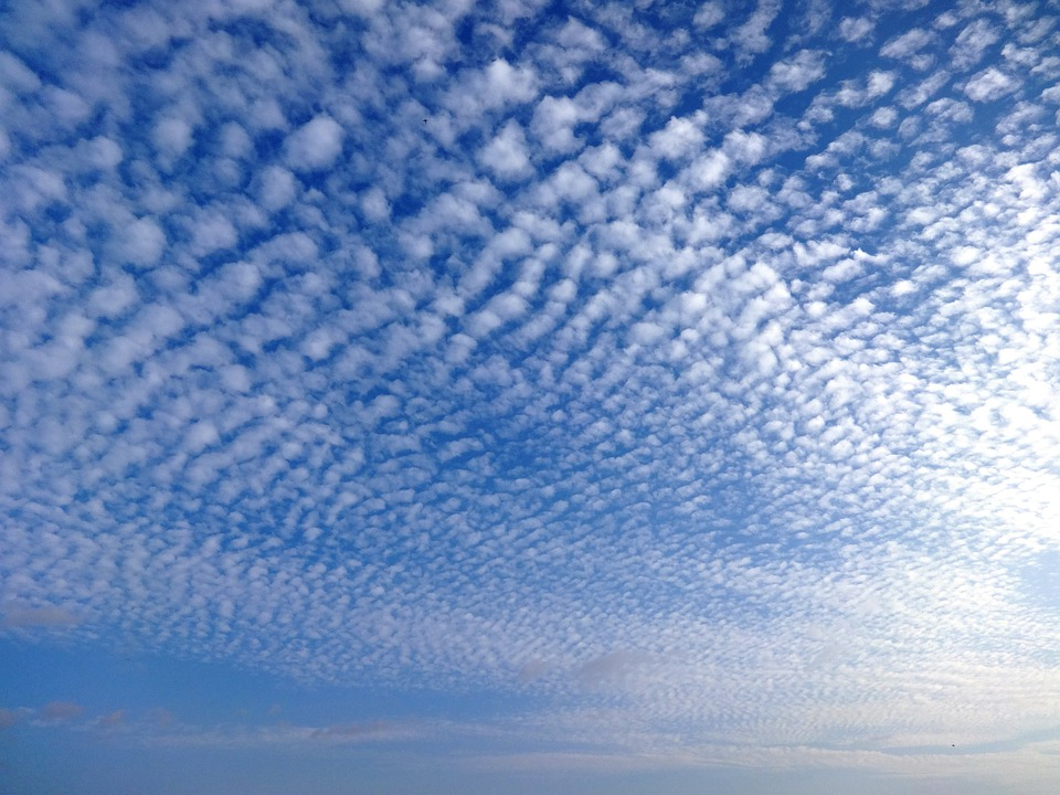 Sky, Clouds, Cirrus, Outdoors, Scenic, Tranquil