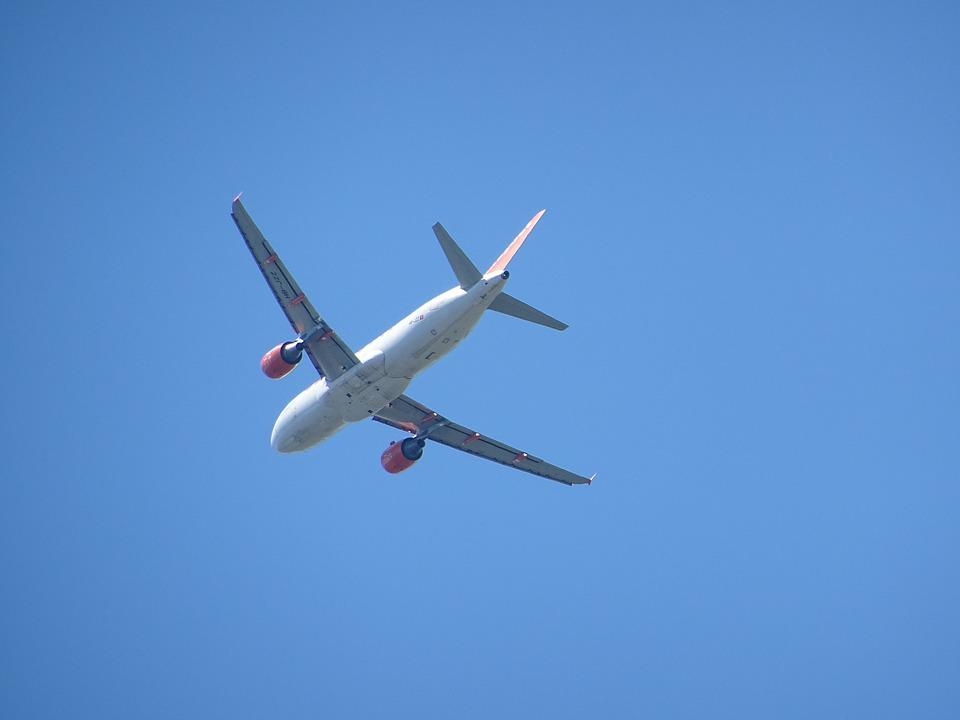 Aircraft, Wing, Flight, Sky, Clear, Air