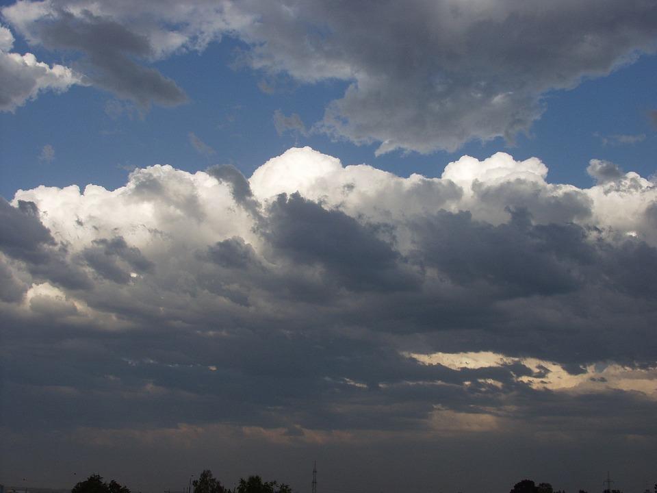 Sky, Clouds, Forward, Landscape, Nature